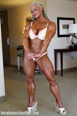 Bodybuilders lisa and wanda lesbian love part 2 2